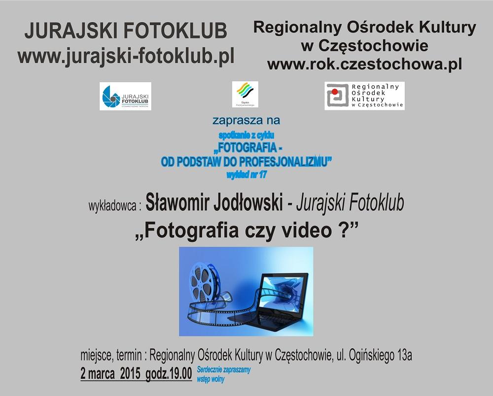Plakat - wykład 17