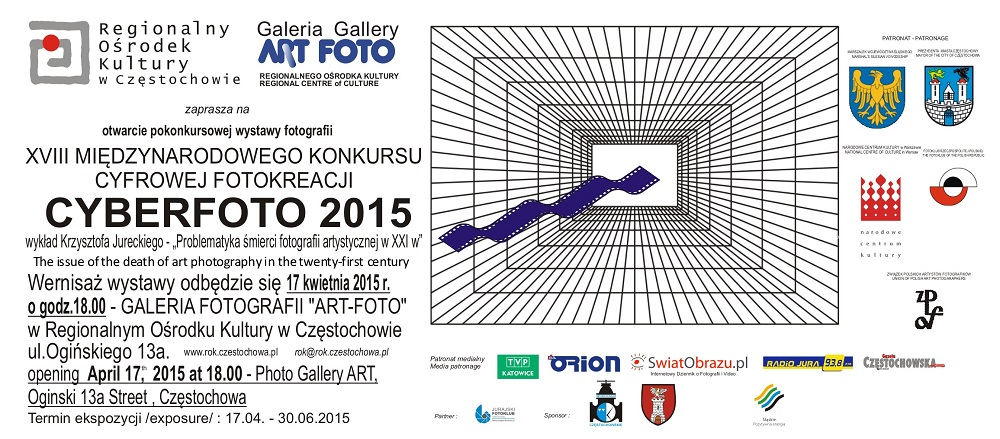 Zaproszenie Cyberfoto 2015